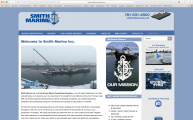 <h5>Smith Marine Inc.</h5><p>Logo and website</p>