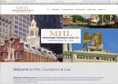 <h5>McDonough, Hacking & Lavoie, LLC</h5><p>Logo and website</p>
