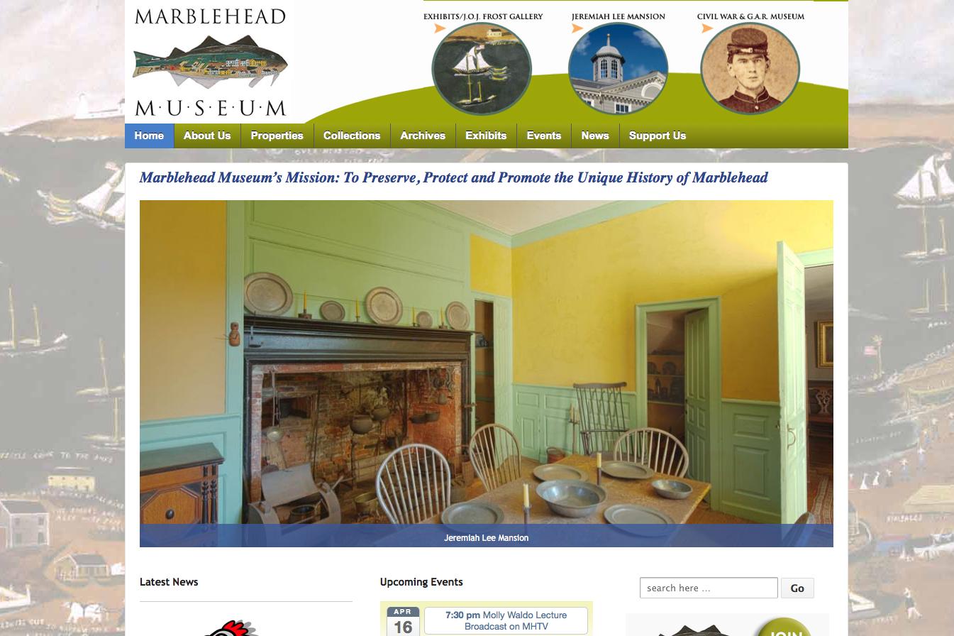 Flat Rock Creative Rocks Marblehead Museum's Website.